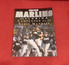El Nuevo Herald Marlins de la Florida Campeones de la Serie Mundial Magazine