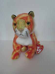 Ty Beanie Babies Tiger, Zodiac series, 2000, new w/ Tag