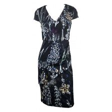 Wear to Work Floral Stretch, Bodycon Knee-Length Women's Dresses