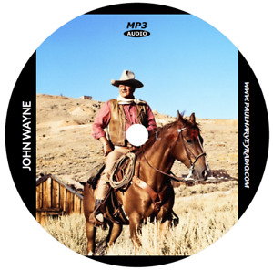 JOHN WAYNE COLLECTION (6 SHOWS) OLD TIME RADIO MP3 CD