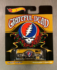 HOT WHEELS GRATEFUL DEAD VOLKSWAGEN T1 PANEL BUS POP CULTURE REAL RIDERS TIRES.