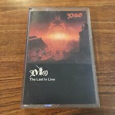 "Dio ""The Last In Line"" (Cassette Tape, 1984) Ronnie James Dio"