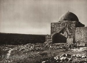 1925 Vintage BETHLEHEM Tomb Rachel Dome Architecture ISRAEL Palestine Photo Art
