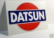 Datsun Vintage Style Decal, Vinyl Sticker, racing