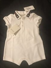 baby gucci shirt. Size 0-3 Months