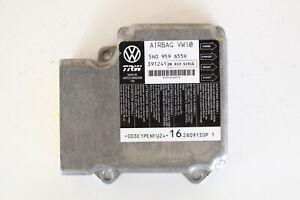 10 Volkswagen VW CC 5N0959655H SRS Module System Restraint Control Unit