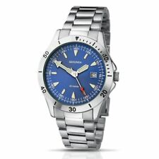 New Sekonda Gents Blue Dial Stainless Steel Bracelet Watch 3279