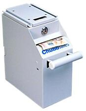ChubbSafes Cash Counter Unit Stores upto 350 Banknotes 235mm X 105mm X 190mm