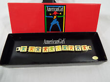 American Girl Bracelet Gold Tone 6 inches With Ag Box - Missing Clasp