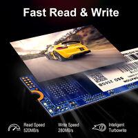 INDMEM 256GB SSD M.2 520MB/s read 2280 SATA 3D NAND MLC Solid State Drive 80mm