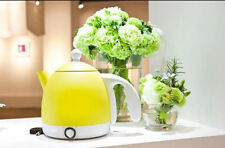 Yellow Mini Stainless Steel Capacity 0.8L Home Kitchen Electric Kettle