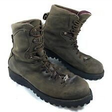 Men's Danner USA 200G GTX Insulated HAWK Brown leather Boots Sz 14 D