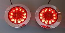 2 x LED Rückleuchte LKW PKW Wohnmobil  Anhänger  Leuchte   12V-24V WAS 980