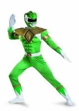 Disguise Power Rangers Green Ranger Classic Muscle Costume