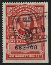 #R727 $100 Documentary, Used [682808] **ANY 4=FREE SHIPPING**