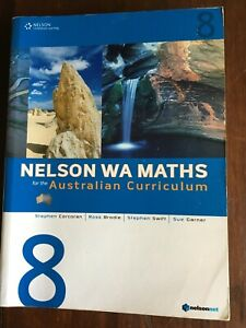 Nelson WA Maths 8 for the Australian Curriculum