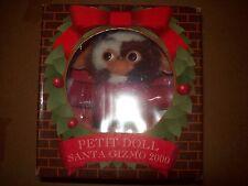 santa gizmo gremlins petit dolls 2000 jun planning plush nib toy figure
