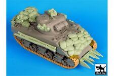 Black Dog T35081 1/35 Sherman 75mm Normandy accessories set