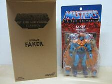 MOTU CLASSICS ULTIMATES MASTERS OF THE UNIVERSE FAKER SUPER 7 NEW IN BOX