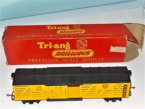 Triang railways. Stock Car, R 126. In Box. Good condition,  Wyong. N.S.W.