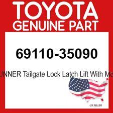 TOYOTA GENUINE 69110-35090 4RUNNER Tailgate Lock Latch Lift With Motor  OEM