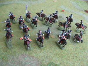 painted x 19 hussard prussien leipzig1813 dont pose inedite!! napoleonicwar 1/72