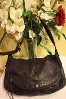 Lucky Brand FLAP DOUBLE POCKET embossed floral leather bag purse  (PU190