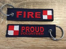 CFA, CFS,  Fire, Keyring, Firefighter, Fire Service, Volunteer, Proud, Australia