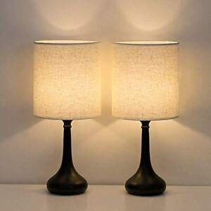 Bedside Table 2 Set Modern Nightstand Lamps Simple Desk Lamp Living Room Office