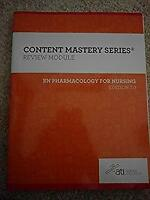 rn pharmacology for nursing edition 7 review module Paperback ati