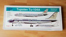 HpH Models Tupolev Tu 104A  Scale 1/72