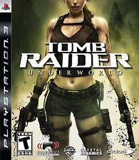 PLAYSTATION 3 PS3 GAME TOMB RAIDER UNDERWORLD BRAND NEW