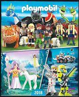 Playmobil - Catalogue 2018 -  Encart catalogue articles complémentaires 40 p -