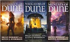 Brian Herbert SCHOOLS OF DUNE Trilogy Book Set 1-3 Sisterhood Mentats Navigators