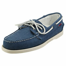 Sebago Portland Zen Mens Blue Boat Shoes - 9 UK