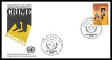 Nations Unies (Prévention du Crime) 1990 FDC - 3