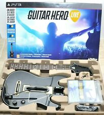 Chitarra Guitar Hero Live completa di gioco in italiano per Ps3 Playstation 3