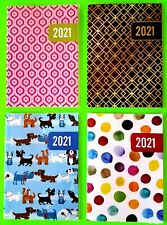 2021 Large Monthly Planner 6.75 x 9.5 Calendar Agenda -Choice Design *See Store*