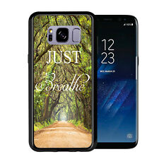 Outdoor Walkway Just Breathe For Samsung Galaxy S8 2017 Case Cover by Atomic Mar