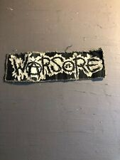 [9078 - PA1] Patch tissus pour t-shirt - coton - Punk-  Anarchie Warsore