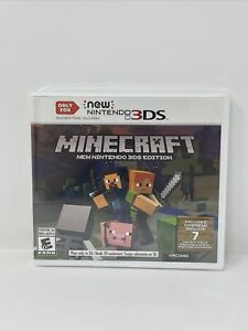 Minecraft Nintendo 3DS Edition (Nintendo 3DS, 2017) Brand New Factory Sealed