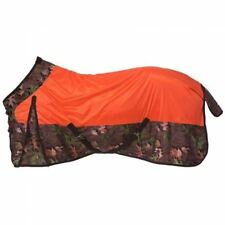 """Tough Timber Bright Orange Deluxe Mesh Fly Sheet 78""""  Horse Tack Equine 34-725C"""