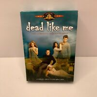 Dead Like Me - The Complete Second Season (DVD, 2009, 4-Disc Set) EXCELLENT COND