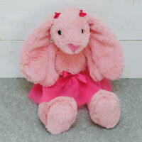 Pink Medium Easter Tutu Snuggly Bunny Childrens Plush Cuddly Toy