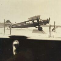 1931 Pittsburgh Air Airplane Original Photograph Travel Air 6000 Picture
