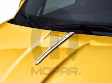 2016 Fiat 500X New Chrome Hood Spear Centerline Molding Mopar Factory Oem
