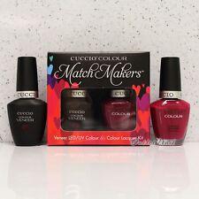 CUCCIO Veneer Match Makers - HEART & SEOUL 6016 Gel & Nail Lacquer Duo Kit