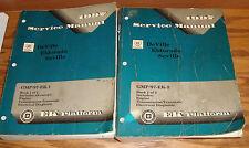 1997 Cadillac DeVille Eldorado Seville Shop Service Manual Vol 1 & 2 Set 97