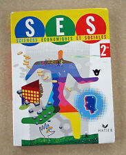 Sciences Economiques et Sociales by Joelle Bails, 2de, French textbook