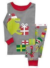 nwt baby gap gray christmas dino dinosaur presents gifts pajamas pjs 6 12 mo